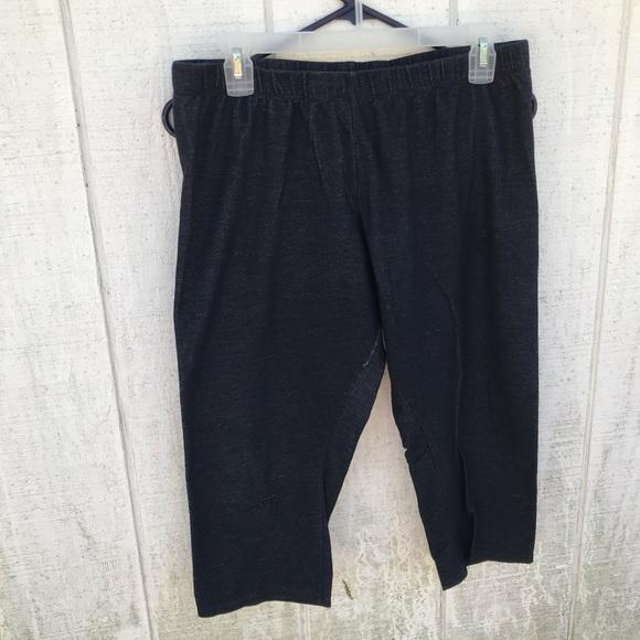 Capri leggings denim look